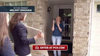 Publishers Clearing House TV Spot, 'Actual Winner: Melody Bingham' - 185 commercial airings