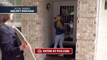 Publishers Clearing House TV Spot, 'Actual Winner: Melody Bingham'