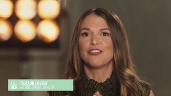 SeeHer TV Spot, 'A True Authentic Voice' Featuring Sutton Foster - Thumbnail 2