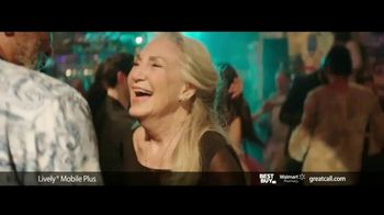 GreatCall Lively Mobile Plus TV Spot, 'Thursday Night Dancing' Featuring John Walsh - Thumbnail 7