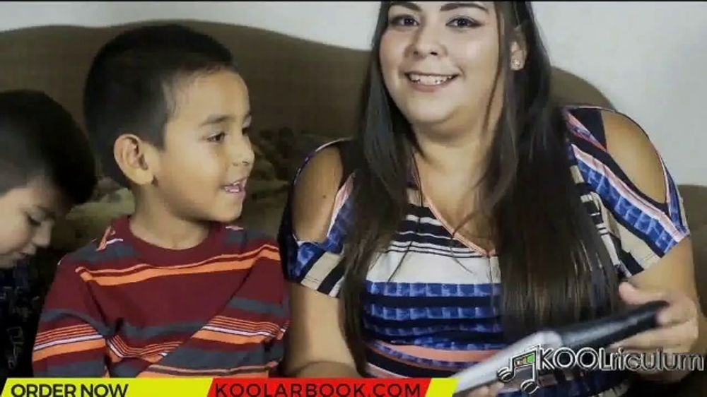 Kool AR Book TV Commercial, 'Interactive Book and App'