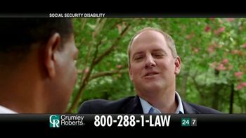 Crumley Roberts TV Spot, 'Reggie: Social Security Disability' - Thumbnail 2