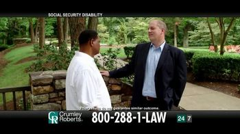 Crumley Roberts TV Spot, 'Reggie: Social Security Disability' - Thumbnail 4