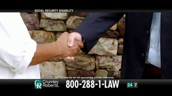 Crumley Roberts TV Spot, 'Reggie: Social Security Disability' - Thumbnail 5