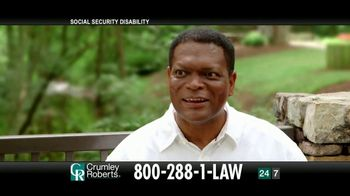 Crumley Roberts TV Spot, 'Reggie: Social Security Disability' - Thumbnail 6
