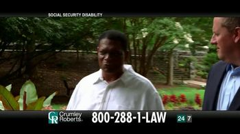 Crumley Roberts TV Spot, 'Reggie: Social Security Disability' - Thumbnail 7