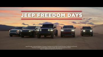 Jeep Freedom Days TV Spot, 'Legendary Deals' Song by The Kills [T2] - Thumbnail 5