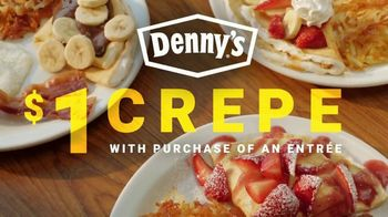 Denny's Crepes TV Spot, '$1 Crepe With Entree' - Thumbnail 7