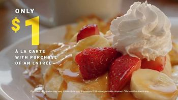 Denny's Crepes TV Spot, '$1 Crepe With Entree' - Thumbnail 6
