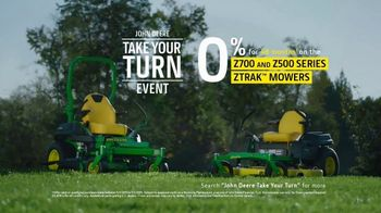 John Deere Take Your Turn Event TV Spot, 'Run With Us: Z500 Series' - Thumbnail 10