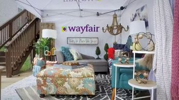 Wayfair TV Spot, 'TLC Channel: Trading Spaces: The Great Outdoors' - Thumbnail 1