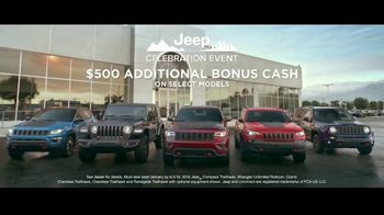 Jeep Celebration Event TV Spot, 'Legend of the Cherokee' Song by The Kills [T2] - Thumbnail 8