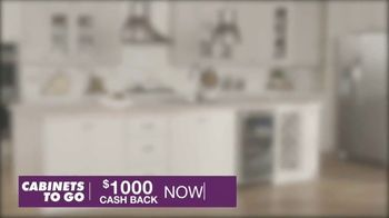 Cabinets To Go TV Spot, 'May Cash Back' - Thumbnail 4