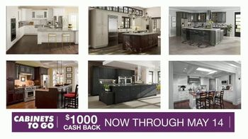 Cabinets To Go TV Spot, 'May Cash Back'