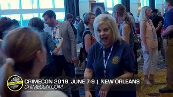 CrimeCon 2019 TV Spot, 'New Orleans' - Thumbnail 1