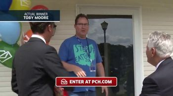 Publishers Clearing House TV Spot, 'Actual Winner: Toby Moore' - Thumbnail 2