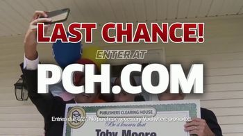 Publishers Clearing House TV Spot, 'Actual Winner: Toby Moore' - Thumbnail 9