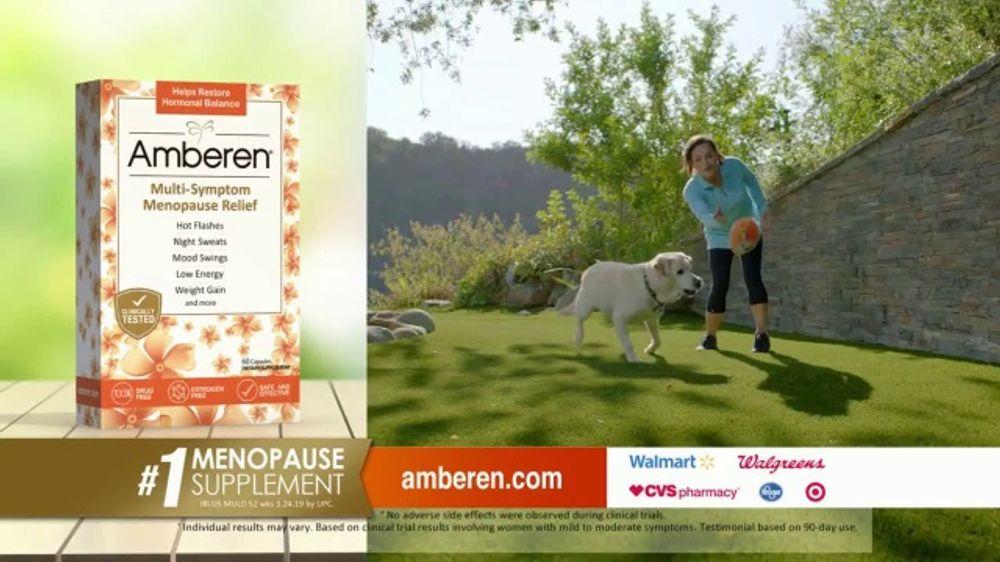 Amberen Tv Commercial Menopause Relief Supplement