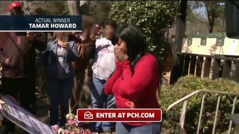 Publishers Clearing House TV Spot, 'Actual Winner: Tamar Howard'