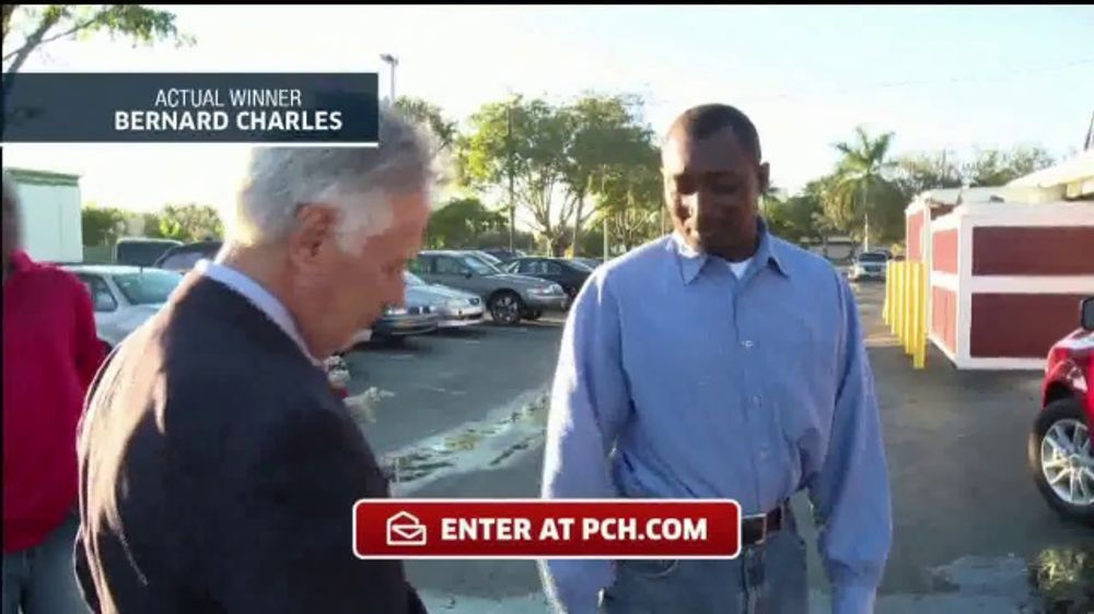 Publishers Clearing House TV Commercial, 'Actual Winner: Bernard Charles' -  Video