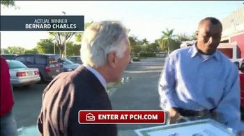Publishers Clearing House TV Spot, 'Actual Winner: Bernard Charles' - Thumbnail 4