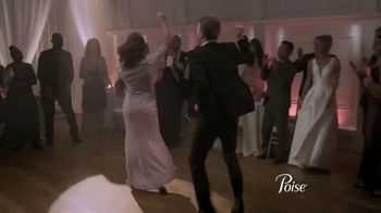 Poise TV Spot, 'Wedding Dance' - Thumbnail 4