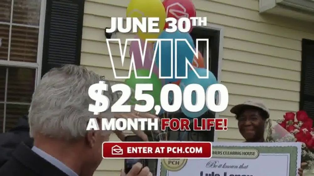 Publishers Clearing House TV Commercial, 'Actual Winner: Lula Lennox' -  Video