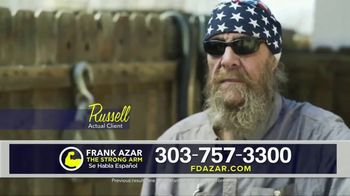 Franklin D. Azar & Associates, P.C. TV Spot, 'Russell' - Thumbnail 3