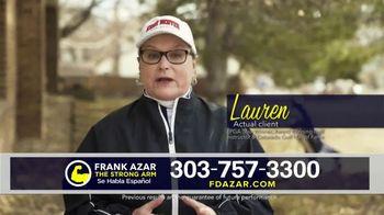 Franklin D. Azar & Associates, P.C. TV Spot, 'Lauren' Featuring Lauren Howe