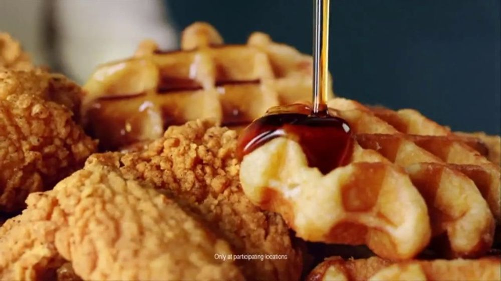 Kfc Chicken Amp Waffles Tv Commercial One More Delicious
