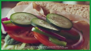 Subway Sub of the Day TV Spot, 'Make It Count: $3.99' - Thumbnail 9