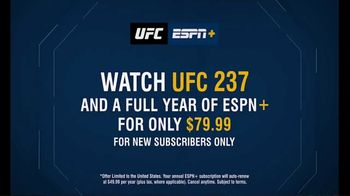 ESPN+ TV Spot, 'UFC 237: Full Year Subscription' - Thumbnail 7
