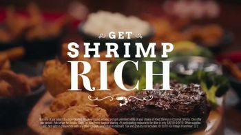 TGI Friday's All-You-Can-Eat Shrimp with Whiskey-Glazed Entrées TV Spot, 'Get Shrimp Rich' - Thumbnail 9