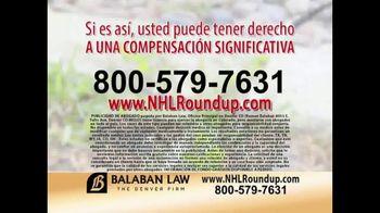The Balaban Firm TV Spot, 'Herbicida RoundUp' [Spanish] - Thumbnail 3