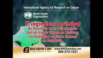 The Balaban Firm TV Spot, 'Herbicida RoundUp' [Spanish] - Thumbnail 4