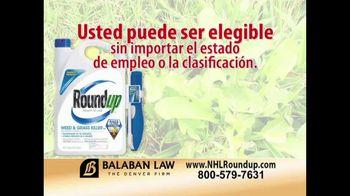 The Balaban Firm TV Spot, 'Herbicida RoundUp' [Spanish] - Thumbnail 7