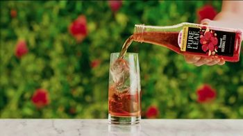 Pure Leaf Mango Hibiscus Herbal Ice Tea TV Spot, 'Blooming With Flavor' - Thumbnail 3