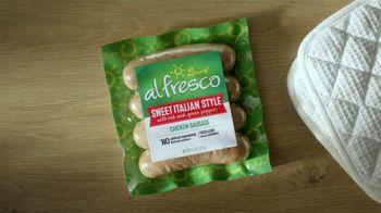 Al Fresco All Natural Sweet Italian Style Chicken Sausage TV Spot, 'Pizza' - Thumbnail 6