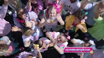 Nickelodeon TV Spot, 'Jojo Siwa D.R.E.A.M. Tour' - Thumbnail 8
