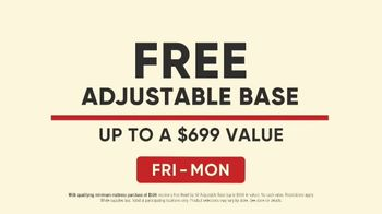 Mattress Firm Save Big Sale TV Spot, 'Free Adjustable Base' - Thumbnail 7