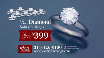 Jewelry Exchange TV Spot, 'Insane Prices on Diamond Studs and Solitaires'