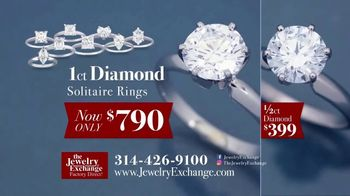 Jewelry Exchange TV Spot, 'Insane Prices on Diamond Studs and Solitaires' - Thumbnail 4