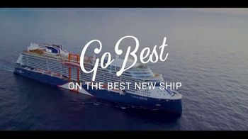Celebrity Edge TV Spot, 'Go Best With the Best New Ship' - Thumbnail 1
