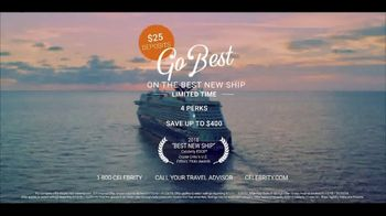 Celebrity Edge TV Spot, 'Go Best With the Best New Ship' - Thumbnail 10