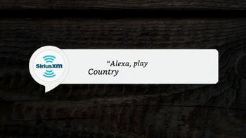 SiriusXM Satellite Radio TV Spot, 'Alexa: Country Channels' - Thumbnail 2