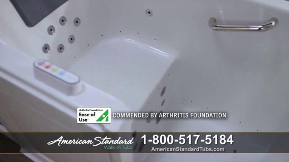 American Standard Walk In Tubs Tv Commercial Help
