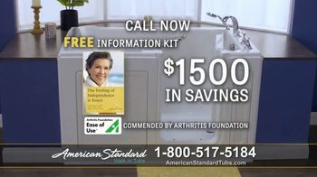 American Standard Walk-In Tubs TV Spot, 'Help Getting Older' Featuring Eric Roberts - Thumbnail 9