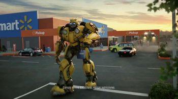 Walmart Grocery Pickup TV Spot, 'Famous Cars: Bumblebee' canción de Gary Numan [Spanish]