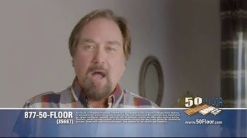 50 Floor TV Spot, 'Upgrade Your Home and Save' Featuring Richard Karn - Thumbnail 1