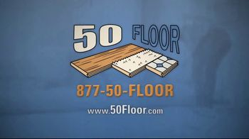 50 Floor TV Spot, 'Upgrade Your Home and Save' Featuring Richard Karn - Thumbnail 8